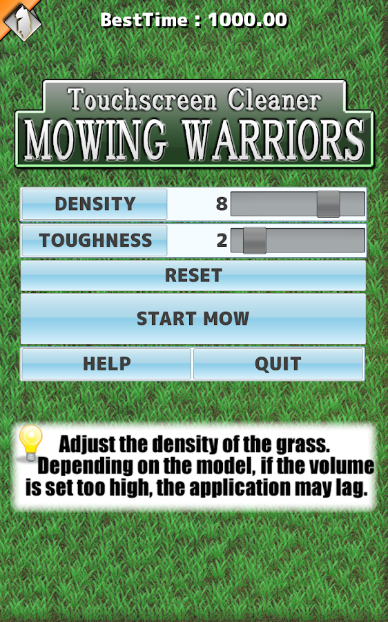 Mowing Warriors - screenshot