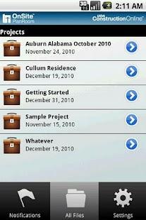 OnSite PlanRoom- screenshot thumbnail