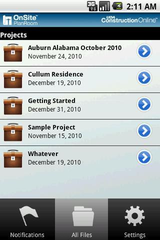 OnSite PlanRoom- screenshot