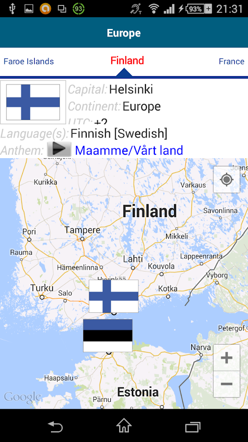 Learn Finnish - 50 languages- screenshot