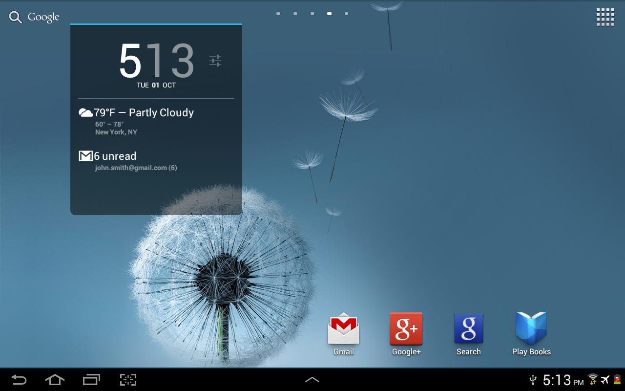 Better DashClock Key - screenshot