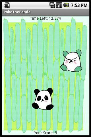 Poke the Panda - screenshot