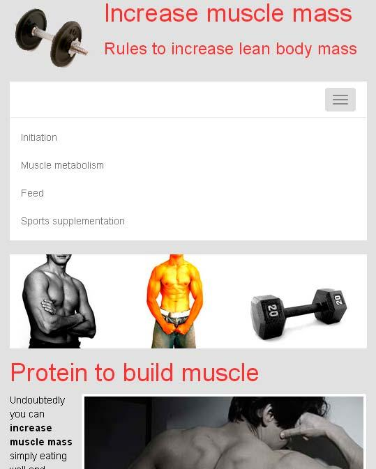 Increase muscle mass- screenshot
