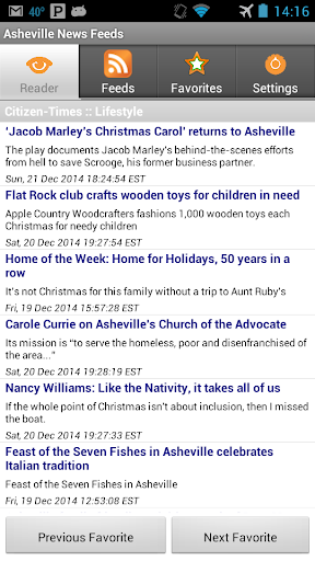 Asheville News Feeds