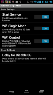 Wifi Single Mode(AutoWifi/LTE) - náhled