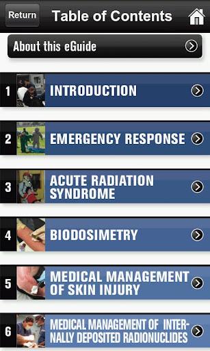 Radiological casualties