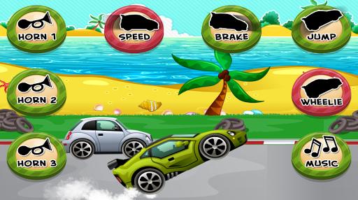 子供の車のゲーム