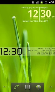 Advanced Clock Widget - screenshot thumbnail