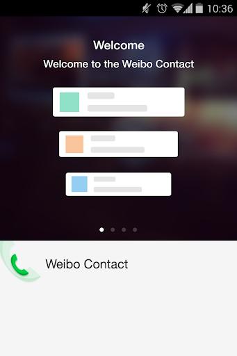 weibo contact