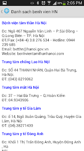 Benh vien Hanoi - screenshot thumbnail