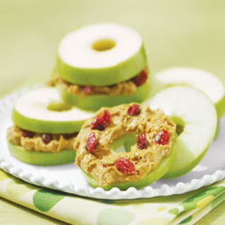 Apple ''bagel'' Snacks.