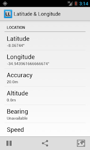 Latitude Longitude Coordinates- screenshot thumbnail