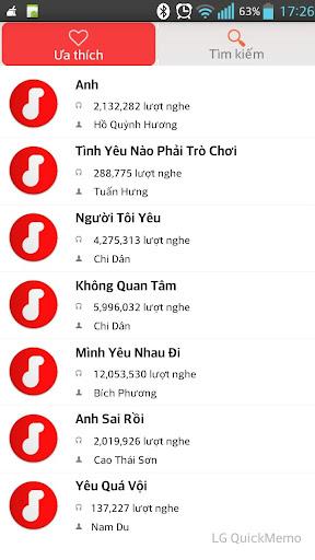 【免費音樂App】Nghe nhac chat luong cao pro-APP點子