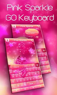 Pink-Sparkle-GO-Keyboard-Theme