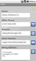 Screenshot of Sugar Mobile
