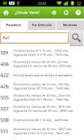 Screenshot of Paraderos.cl