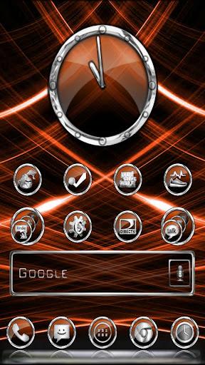 CrystalX HD Multi Theme Orange