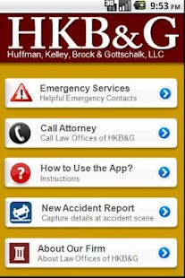 Accident App by HKB&G- screenshot thumbnail