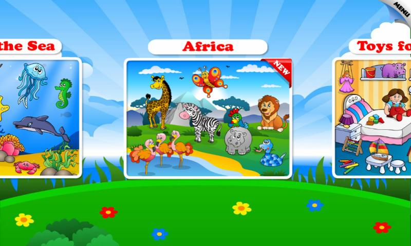 Kids & Toddler Puzzle: Animals- screenshot