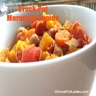 Crock-Pot Moroccan Tagine (Vegetarian Version)