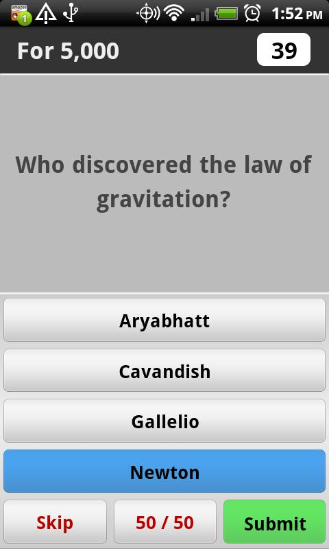 Science Trivia Game Free - screenshot