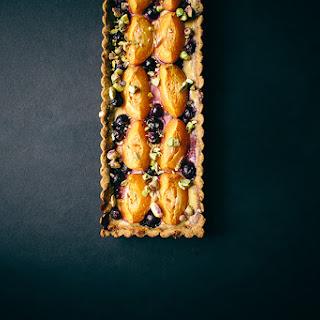 Blueberry Apricot Tart with Pistachio Crust Recipe