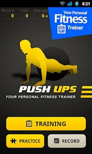 Push Ups Workout: miniatura de captura de pantalla