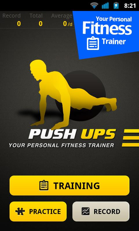 Push Ups Workout: captura de pantalla