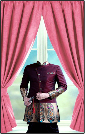 Shervani Photo Suit