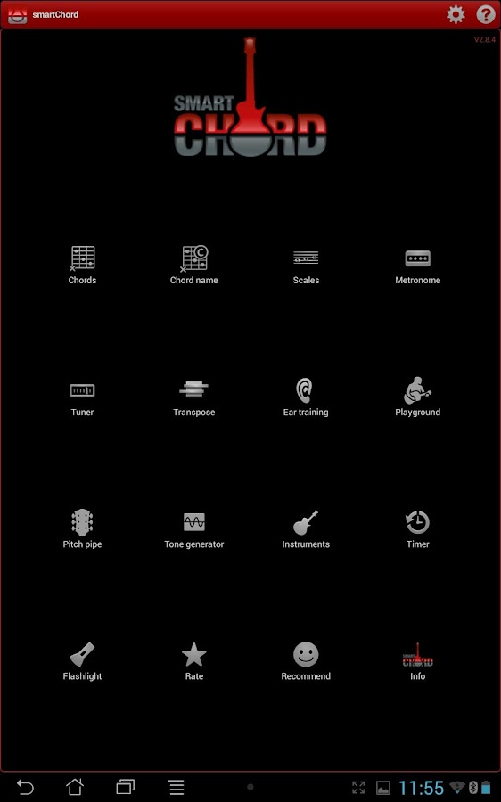smart Chords & tools (guitar.. - screenshot