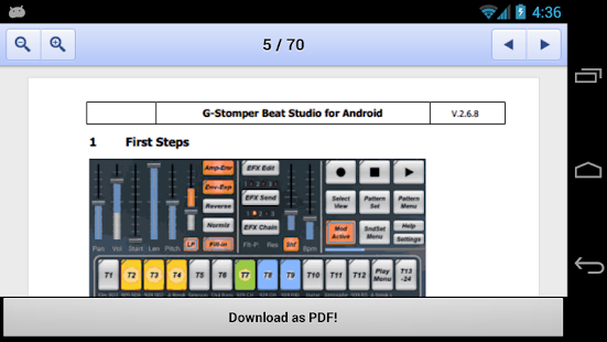 G-Stomper User-Manual EN - screenshot thumbnail