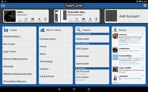 【免費社交App】TweetCaster Pro for Twitter-APP點子