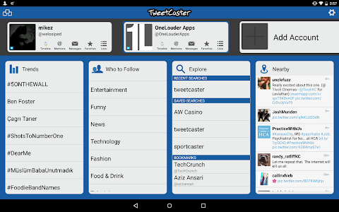 TweetCaster Pro for Twitter v8.7.2