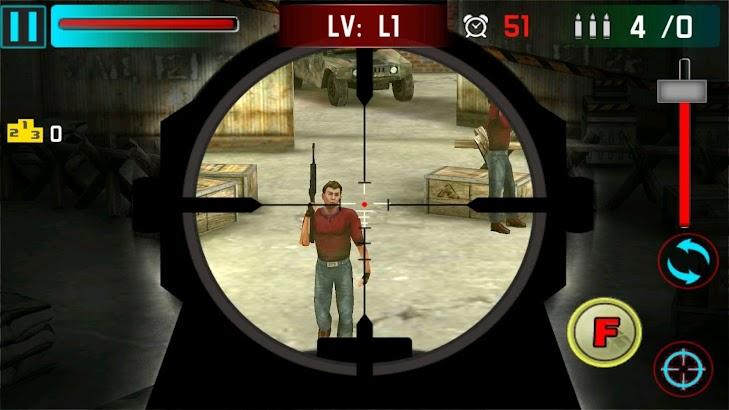 Sniper Shoot War 3D screenshot