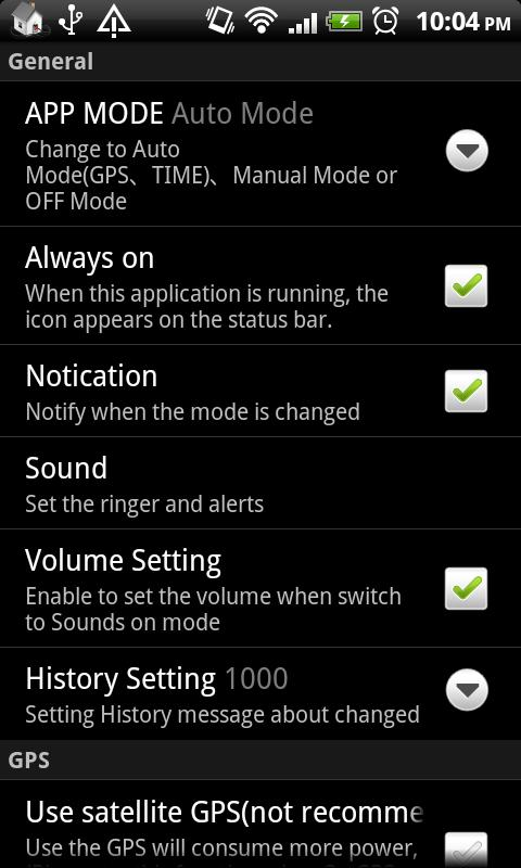 Auto SwitchLite(Wifi,BT,Sound) - screenshot