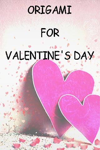 Origami Heart Valentine