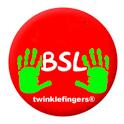 BSL Fingerspelling part C icon