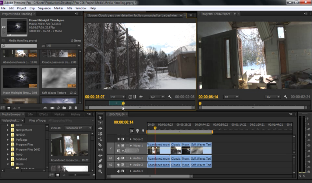 how to use premiere pro cs6
