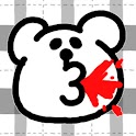 シュールな吐血ライブ壁紙 logo