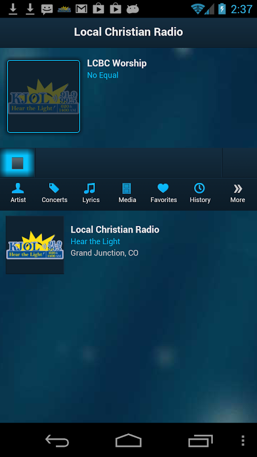 KJOL Radio - screenshot