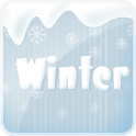 Winter go launcher ex theme icon