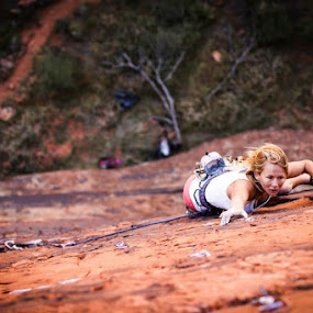 Richness bitchness by Ryan Skeers - Sports & Fitness Climbing
