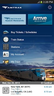 Amtrak - screenshot thumbnail