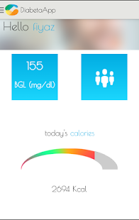 DiabetaApp- screenshot thumbnail