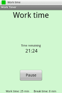 Get-it-Done Timer Lite screenshot 0