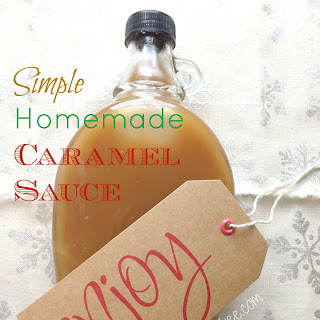 Simple Homemade Caramel Sauce