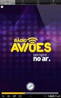 Screenshot of Rádio Aviões