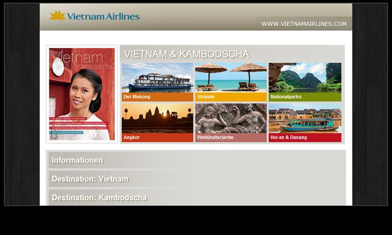 Vietnam Travelwebzine - screenshot