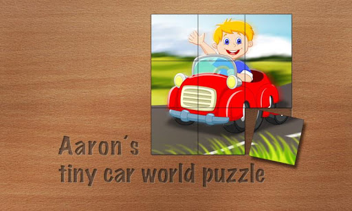 Aarons Car Puzzle for Toddlers