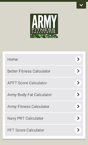 無料健康Appの陸軍フィットネス電卓プロ|記事Game